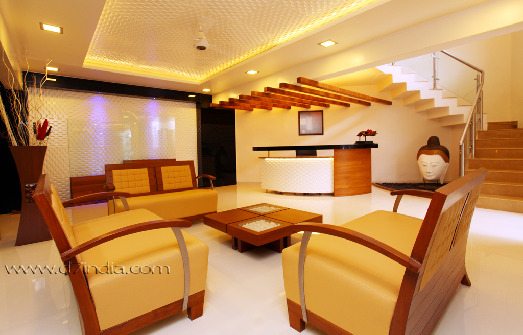extravagant builders office rohan patil waitingroom