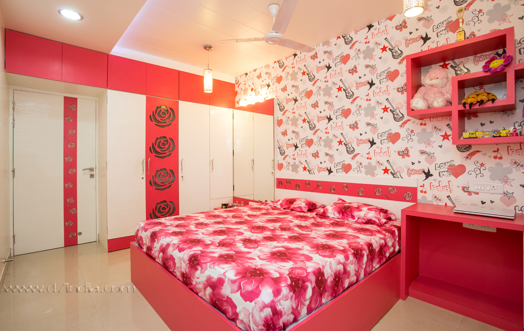 Compact Apartment  Rajesh Nikam Bedroom new
